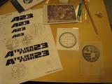 オリジナル家紋作り(2009.05.16完成間近)
