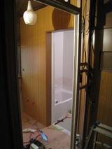 洗面室(工事「中」071127)
