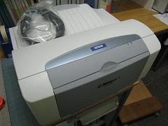 レーザー・プリンター(2代目モノクロ)仮設置