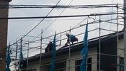 工事進捗(20140617)太陽光パネル施工中