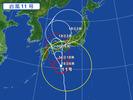 台風11号(20150716)