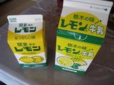 お盆休み2009(レモン牛乳)