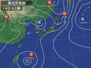 天気図(2012.8.14)03:00現況