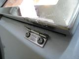 サンドブラストBOX(タイセイ)覗き窓破損02