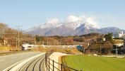八ヶ岳(20140331)ローソン前、あずさ4号