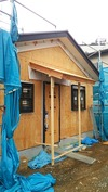 工事進捗(20140515)工房整体玄関