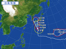 台風11号(20150715)