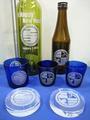 産業交流展2009(展示:酒&グラス、ペーパーウエイト)