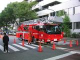中野まつり07(消防車)