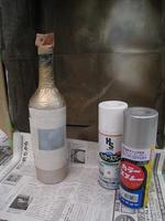 塗装工(「新」塗料で2色バージョン制作:塗装中)