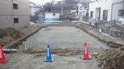 工事進捗(20140325)砕石敷き完了
