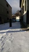積雪(20141217)カーポート