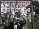 初詣(北野神社1)