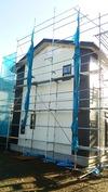 工事進捗(20140526)外壁工事サイディング西
