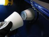 サンドブラストBOX(青キャビ)フィルター2