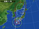 台風11号(20140809)朝