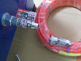 サンドブラストBOX(青キャビ)エア導入口接続部品-3