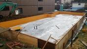 工事進捗(20140329)捨てコン、防湿シート、型枠2