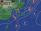 天気図(2013_8_31)