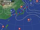 天気図(2012.9.10 0300)