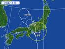 台風(18号)20150909