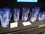 続・夏休み企画(お土産コーナーinリステル200908)glass