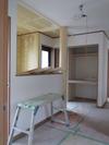 工事進捗(20140707)クロス工事[玄関吹き抜け]