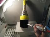 作業工程 -ボトル7(サンドブラスト直前)-
