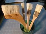 道具(刷毛各種)