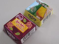 チロルチョコ(2009宮崎VS北海道)パッケージ