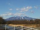 八ヶ岳(20150206)韮崎みちの駅塩川河川敷