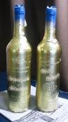 サンドブラスト作業(ワイン「塗装養生」)婚礼お祝い