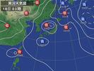 天気図(2013_7_18)