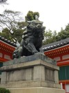 八坂神社(京都祇園)狛犬「左」