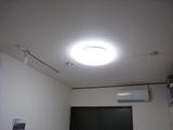 照明(天井:店舗・フリースペース部)-完成
