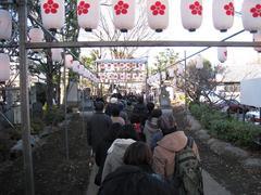 初詣(2010.01.01)北野神社参道