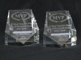 サンドブラスト作品[オーナメント]MVP表彰