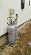 工事進捗(20140719)LPガス&外部水栓