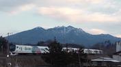 八ヶ岳(20140130)セブンイレブン裏