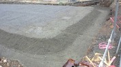 工事進捗(20140326)砕石転圧完了2