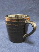 マグカップ(陶器:黒)
