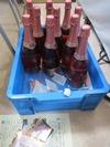 サンドブラスト部材(スパークリングワイン)ラベルはがし3