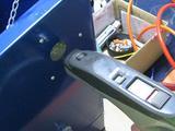 サンドブラストBOX(青キャビ)排気口[掃除機接続]