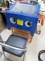 サンドブラストBOX(青キャビ)設置台[棚改造]