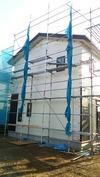 工事進捗(20140523)外壁工事サイディング西