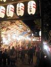 二の酉(2012.11.20)北野神社参道2