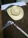 麦わら帽子と長鎌