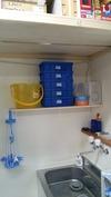 サンドブラスト「備品」水回り棚
