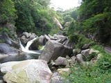 ドライブ山梨2010.08(昇仙峡:滝へ3)