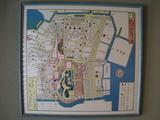 江戸古地図(愛宕下:芝増上寺界隈-全景)